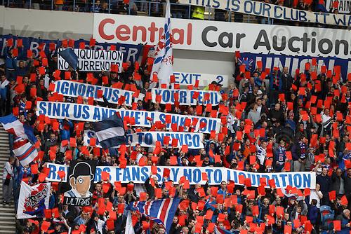 Rangers v St Mirren 7th April 2012