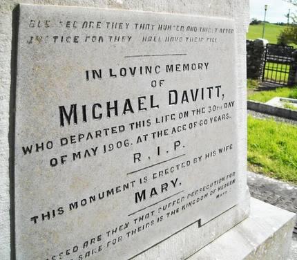 Davitt Gravestone
