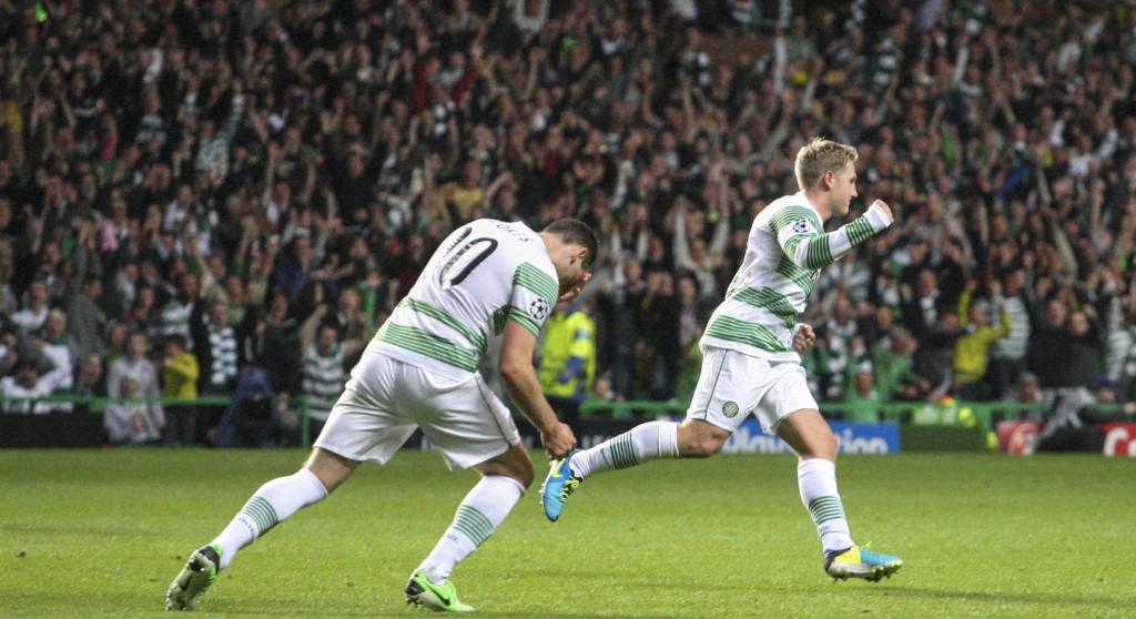 2013 Champions League Qualifier Celtic v Shakhtyor Karaganda Aug 28th