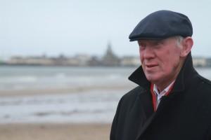 Bobby Lennox in Saltcoats