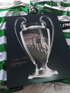 Billy signed canvas