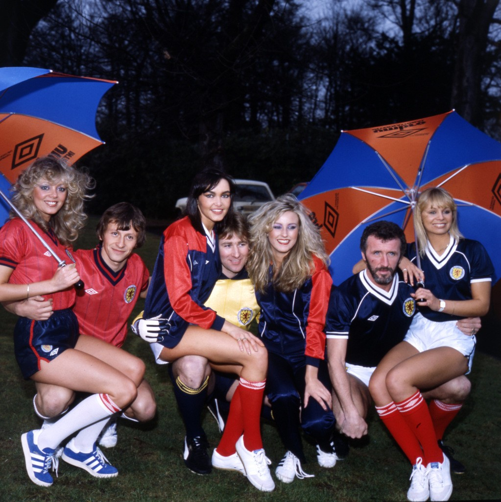 SCOLTAND FOOTBALL STRIP LAUNCH 1982
