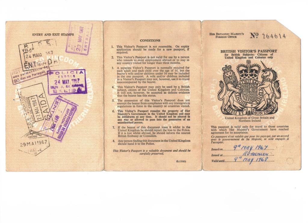 Billy Passport 2 Colour 2