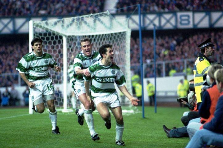 Rangers v Celtic 1993
